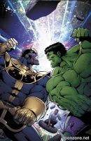 THANOS VS HULK #1 (of 4)