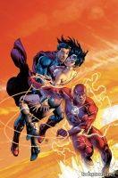 SUPERMAN/WONDER WOMAN #15 (Ivan Reis Flash Variant)