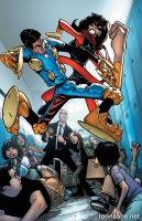 S.H.I.E.L.D. #2 (Humberto Ramos Variant Cover)