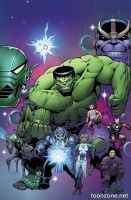THANOS vs HULK #2 (of 4)
