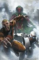 UNCANNY AVENGERS #1 (Gabriele Dell'Otto Variant)