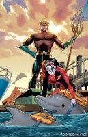 AQUAMAN #39 (Harley Quinn Variant)