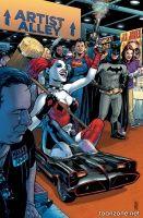 BATMAN/SUPERMAN #19  (Harley Quinn Variant)