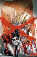 JUSTICE LEAGUE UNITED #9 (Harley Quinn Variant)