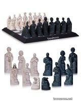 THE SANDMAN CHESS SET SCULPTED BY PAUL HARDING
