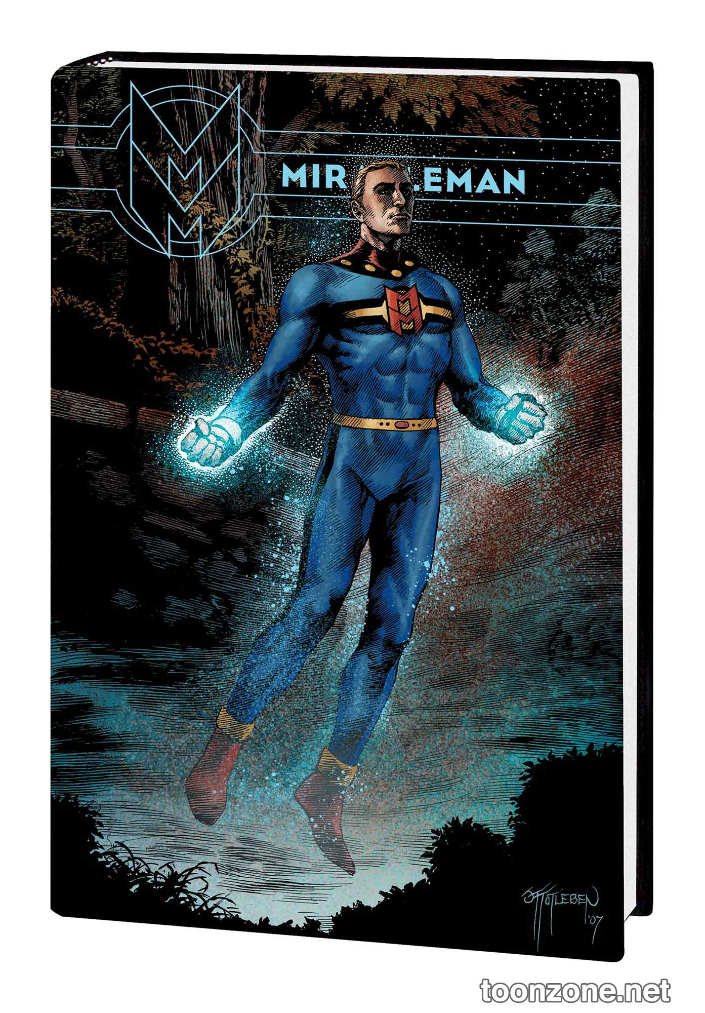 Miracleman book 3 olympus premiere hc totleben cover dm only 328