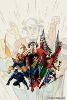 JUSTICE SOCIETY OF AMERICA: A CELEBRATION OF 75 YEARS HC