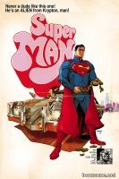 SUPERMAN #40 (Movie Poster Variant)