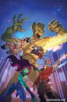 MARVEL UNIVERSE GUARDIANS OF THE GALAXY #2 (of 4)