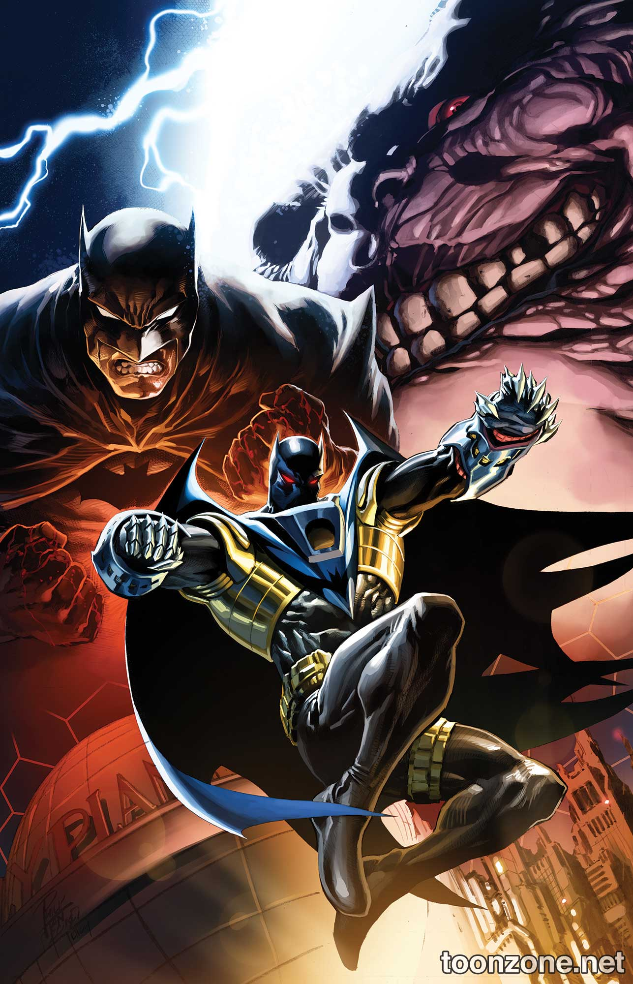 CONVERGENCE: BATMAN: SHADOW OF THE BAT #1