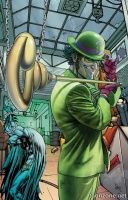 BATMAN: ARKHAM – THE RIDDLER TP
