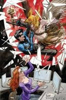 CONVERGENCE: NIGHTWING/ORACLE #1