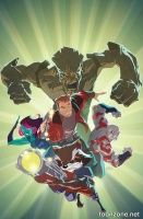 MARVEL UNIVERSE GUARDIANS OF THE GALAXY #3 (of 4)