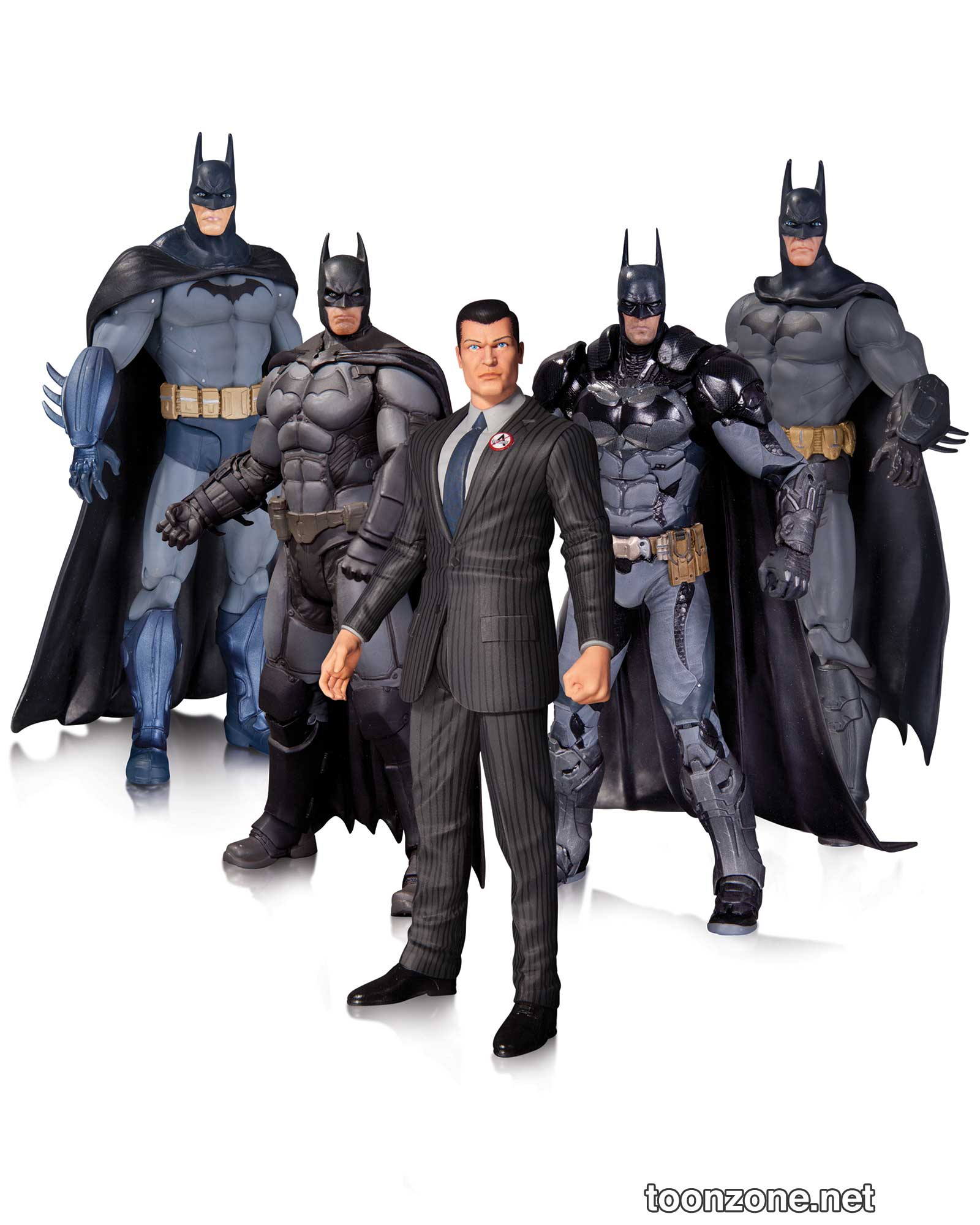 ARKHAM BATMAN ACTION FIGURE 5-PACK