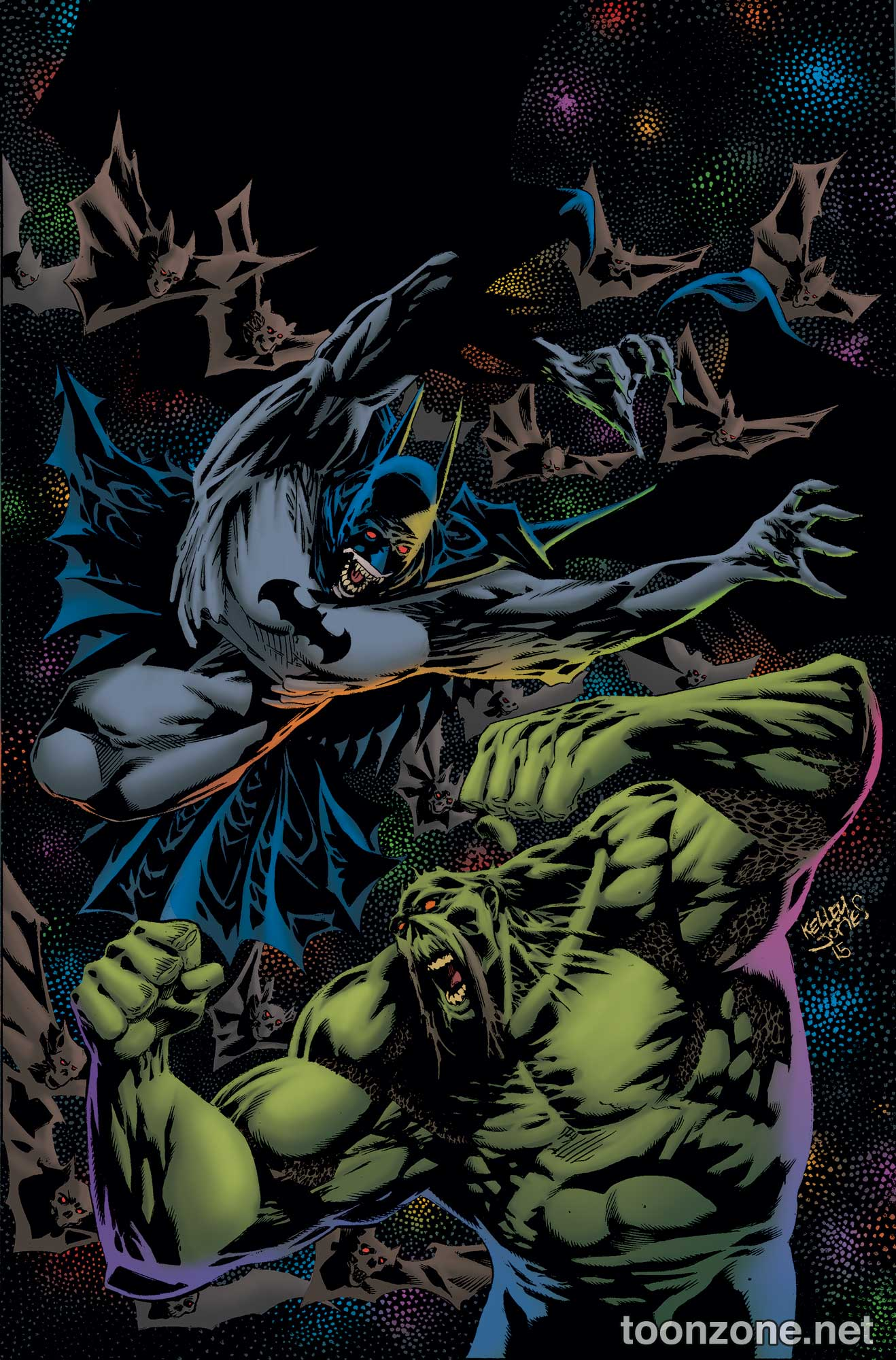 CONVERGENCE: SWAMP THING #2