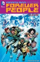 INFINITY MAN AND THE FOREVER PEOPLE VOL. 1: PLANET OF THE HUMANS TP