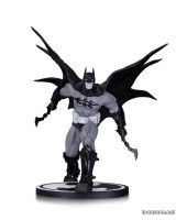 BATMAN: BLACK AND WHITE BATMAN BY CARLOS D'ANDA STATUE