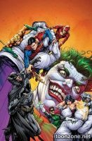JUSTICE LEAGUE OF AMERICA #1 (Joker Variant)