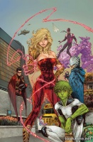 TEEN TITANS VOL. 1: BLINDED BY THE LIGHT HC
