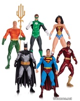 ALEX ROSS JUSTICE LEAGUE ACTION FIGURE 6-PACK