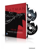 BATMAN YEAR ONE HC BOOK AND DVD/BLU-RAY SET