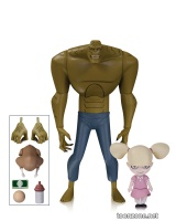 BATMAN ANIMATED SERIES: KILLER CROC WITH BABY DOLL ACTION FIGURE