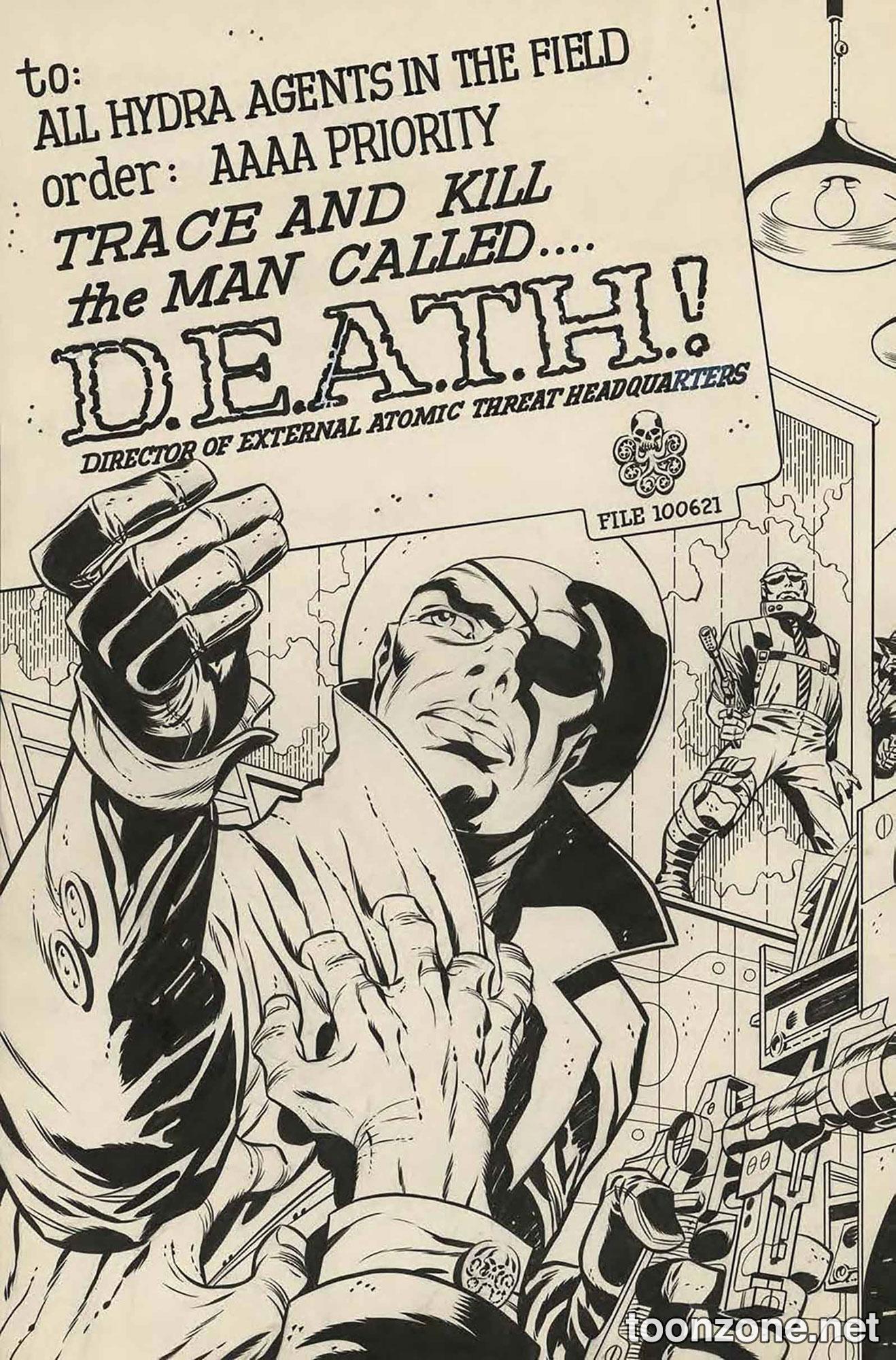 S.H.I.E.L.D. #9 (Jack Kirby Variant)
