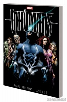 INHUMANS BY PAUL JENKINS & JAE LEE TPB