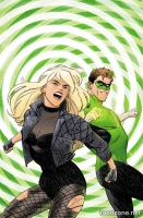 BLACK CANARY #4 (Green Lantern 75 Variant Cover)