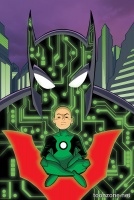 BATMAN BEYOND #4 (Green Lantern 75 Variant Cover)