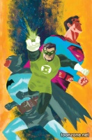 BATMAN/SUPERMAN #24 (Green Lantern 75 Variant Cover)