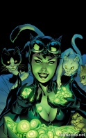 CATWOMAN #44 (Green Lantern 75 Variant Cover)