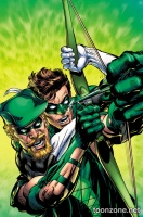 GREEN ARROW #44 (Green Lantern 75 Variant Cover)