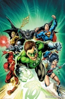 JUSTICE LEAGUE #44 (Green Lantern 75 Variant Cover)