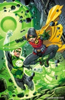 ROBIN, SON OF BATMAN #4 (Green Lantern 75 Variant Cover)