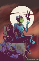 CATWOMAN #45 (Monsters Variant)