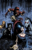 JUSTICE LEAGUE OF AMERICA #5 (Monsters Variant)