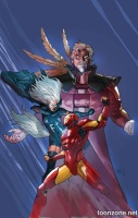 CONTEST OF CHAMPIONS #1 (Variant Cover)