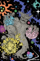 GUARDIANS OF THE GALAXY #1 (Kirby Monster Variant)