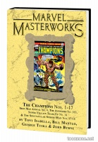 MARVEL MASTERWORKS: THE CHAMPIONS VOL. 1 HC — VARIANT EDITION VOL. 229 (DM ONLY)