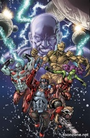 GUARDIANS OF THE GALAXY #1 (Variant Cover)