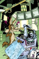 CYBORG #5 (Looney Tunes Variant Cover)