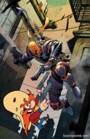 DEATHSTROKE #12 (Looney Tunes Variant Cover)