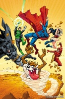 JUSTICE LEAGUE OF AMERICA #6 (Looney Tunes Variant Cover)