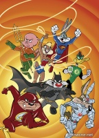 JUSTICE LEAGUE #46 (Looney Tunes Variant Cover)