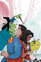 SUPERMAN/WONDER WOMAN #23 (Looney Tunes Variant Cover)