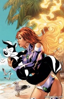 STARFIRE #6 9Looney Tunes Variant Cover)