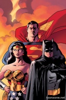 BATMAN/SUPERMAN/WONDER WOMAN: TRINITY DELUXE EDITION HC