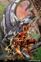 THE FLASH VOL. 7: SAVAGE WORLD HC