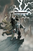 BLACK KNIGHT #1 (Eric Powell Variant Cover)